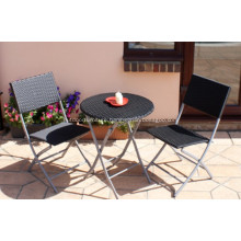 Cheap Folding Tea Dining Rattan Outdoor Furniture